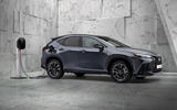 95 Lexus NX 450h+ 2021 official reveal charging