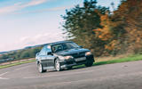 Lotus Carlton at 30 - on the road front
