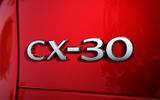 Mazda CX-30 2019 Geneva motor show reveal - rear badge