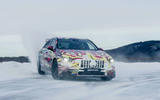 Mercedes-AMG A45 2019 prototype ride - drift front