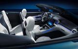 95 Mercedes AMG SL 2022 official interior seats