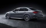 95 Mercedes Benz C Class 2021 official images studio static rear