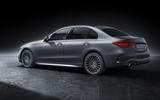 95 Mercedes Benz C Class 2021 official images studio static rear