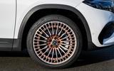 95 Mercedes Benz EQA official images alloy wheels