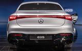 95 Mercedes EQS official reveal images rear