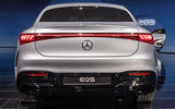 95 Mercedes EQS official reveal images rear