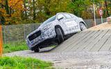 Mercedes-Benz GLA prototype ride 2019 - cornering front
