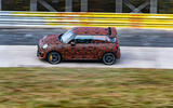 Mini JCW GPE prototype official images - tracking side