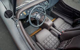 Morgan Plus Four 70th anniversary - interior