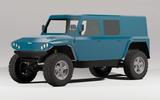 95 Munro EV electric vehicle render official blue