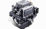 Hyundai nexo motor - three quarters