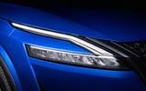 95 Nissan Qashqai 2021 official reveal headlights