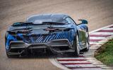 95 Pininfarina Battista first ride 2021 cornering rear