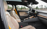 2020 Polestar 2 prototype drive - cabin
