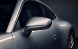 2019 Porsche 911 official reveal - press still wing mirrors
