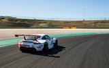 Porsche 911 RSR-19 drive - cornering rear
