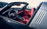 Porsche 911 Targa 992 official images - interior