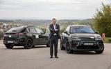 95 Porsche Macan EV official test images static