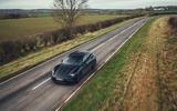 95 Porsche Taycan Cross Turismo prototype drive aerial