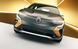 Renault Megane eVision concept official images - nose