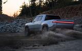 Rivian R1T electric pick-up reveal - hero dirt