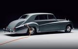Rolls Royce by Lunaz official images - studio rear