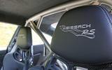 Road test rewind Porsche 911 GT2 RS - seats
