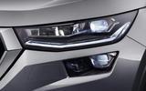 95 Skoda Kodiaq MY2021 facelift official images headlights