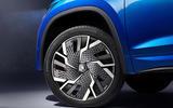 95 Skoda Kodiaq VRS 2021 official images alloy wheels