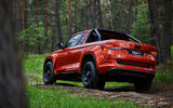 Skoda Mountiaq concept first drive review - offroad rear