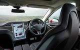 Tesla Model S - car of the decade - cabin