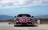 Toyota Supra 2019 prototype first drive review static nose