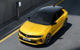 95 Vauxhall Astra 2022 official images aerial front