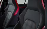 Volkswagen Golf GTI 2020 design cues - seats