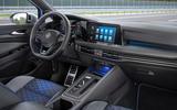 95 Volkswagen Golf R Estate 2021 official reveal dashboard