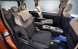 95 Volkswagen Multivan T7 2021 official images middle row