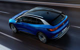Volkswagen ID 4 official images - tracking aerial rear