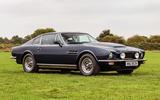 Aston Martin V8 Vantage Oscar India 1978 - stationary side