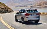 BMW X3M official press - on the road rear