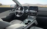 Hyundai Kona Electric MY2020 official - dashboard
