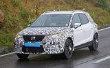 2022 Seat Arona spy images - on the road front