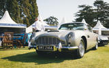 Aston Martin DB5 Goldfinger Continuation first customer car