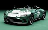96 Aston Martin V12 Speedster DBR1 spec front