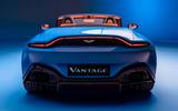 Aston Martin Vantage Roadster 2020 - official press images - rear