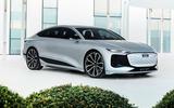 96 Audi A6 E tron Concept official static exterior front