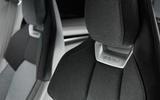 Audi E-tron GT concept official reveal - front seat design
