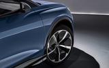 Audi Q4 E-tron electric SUV Geneva 2019 official press images - alloy wheels