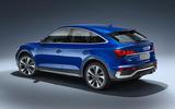 Audi Q5 Sportback 2020 official images - static rear