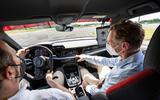 96 Audi RS3 2021 prototype ride passenger