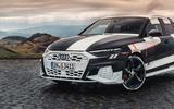 Audi S3 2020 prototype drive - front end